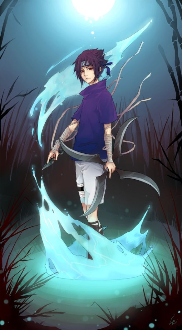 Sasuke Water by UdonNodu