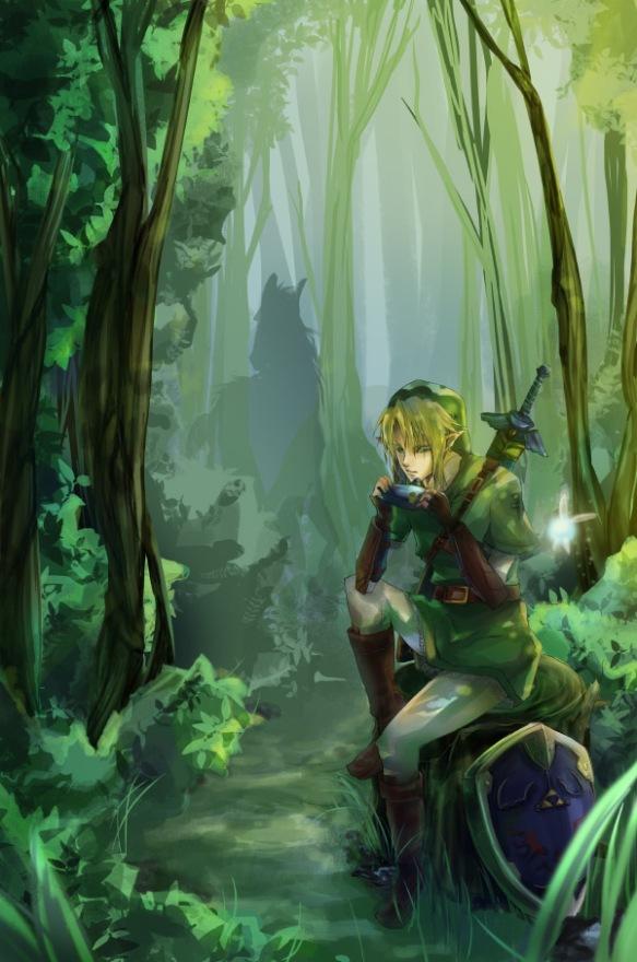Zelda Link by Miyukiko
